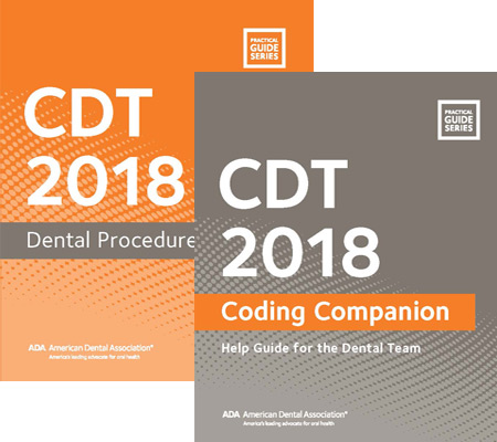 CDT 2018 Dental Coding Kit Book Cover