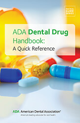 ADA Dental Drug Handbook: A Quick Reference Book Cover