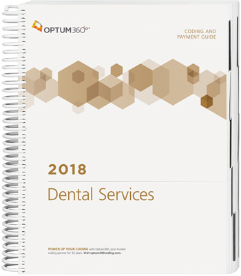 Coding and Payment Guide for Dental Services 2018 Book Cover