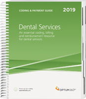 Coding and Payment Guide for Dental Services 2019 Book Cover